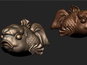 愤怒的小鱼 3D模型