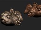 愤怒的小鱼 3D模型 图1