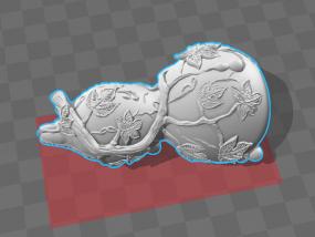 高清葫芦 3D模型