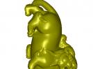 貔貅 3D模型 图1