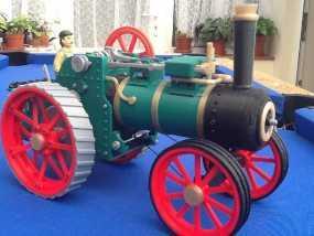 牵引发动机 3D模型