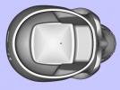 骷髅小酒杯 3D模型 图3
