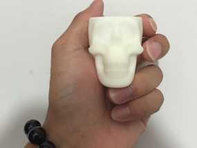 骷髅头小酒杯 3D打印制作