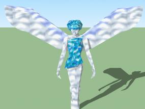 女神雕塑 3D模型