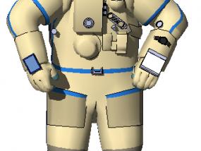宇航员 3D模型