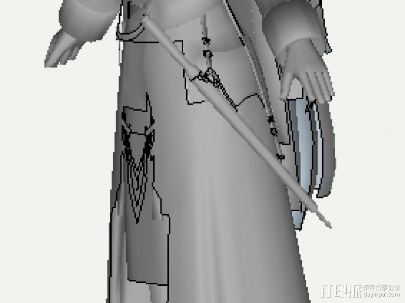 最终幻想 3D模型  图2
