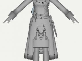 最终幻想 3D模型