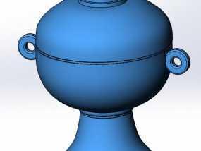 礼器—豆 3D模型