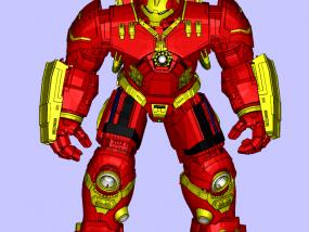 钢铁侠MK44 3D模型
