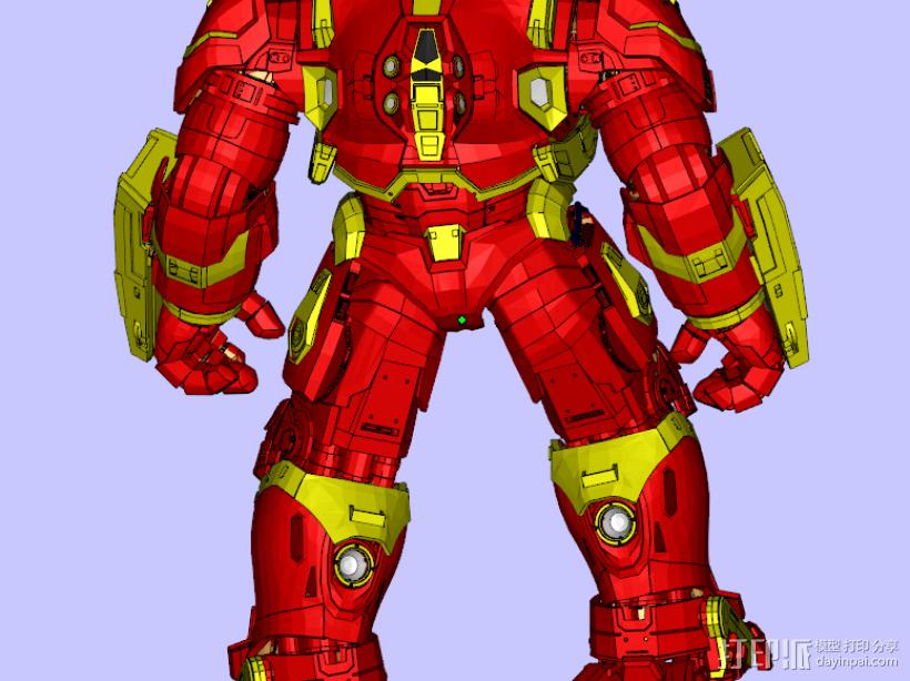 钢铁侠MK44 3D模型  图3