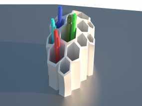 笔筒 3D模型
