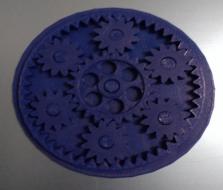 齿轮玩具 3D打印制作