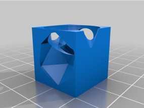 任意形状的立方体 3D模型