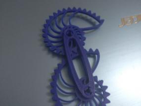 鹦鹉螺齿轮 3D打印制作