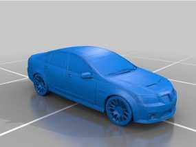 庞蒂克汽车 3D模型