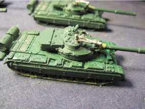 中国99式主战坦克 3D模型