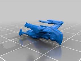 星际公民游戏太空战船 3D模型