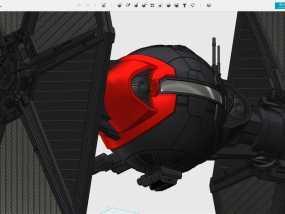 星球大战战斗机 3D模型
