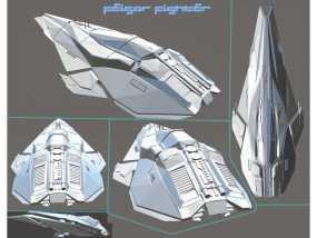 星球大战科幻战斗机 3D模型