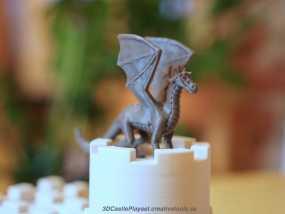 飞龙在天 3D打印制作