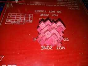 鲁班锁 3D打印制作