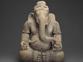 象头神甘尼萨 3D模型