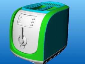烤面包机 3D模型