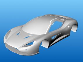 跑车 3D模型