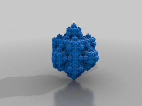 立方分形 3D模型