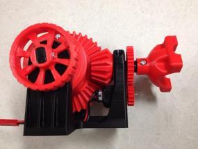 函齿轮系统 3D模型