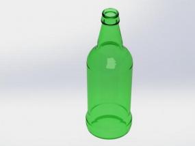 啤酒瓶 3D模型