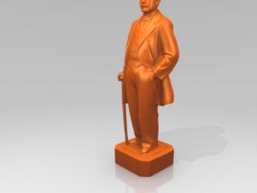 孙中山 3D模型