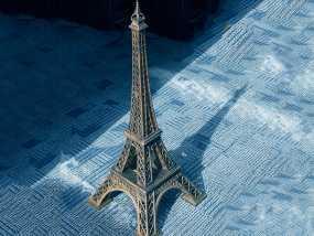 埃菲尔铁塔-3D目目打印 3D打印制作