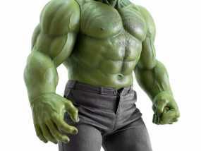 绿巨人 3D模型