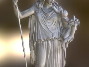 希腊女雕像 3D模型