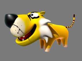 老虎 3D模型