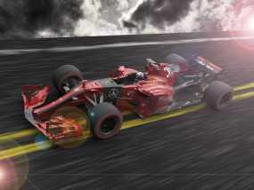 F1赛车2017最新作品 地狱 3D模型