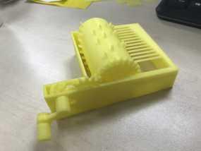 音乐盒 3D打印制作