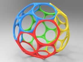 球 3D模型