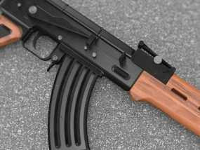 AK47 3D模型