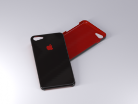 苹果7手机保护壳 3D模型
