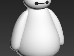 大白 3D模型