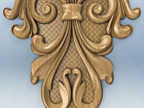 雕刻装饰 3D模型